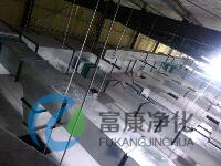 山东泓达生物风管安装图